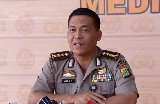 Kabid Humas Polda Metro Jaya Kombes Argo Yuwono .