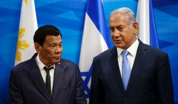 Duterte dan Netanyahu.