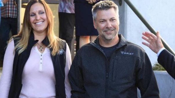 Joshua Horner dan istrinya, Kelli.