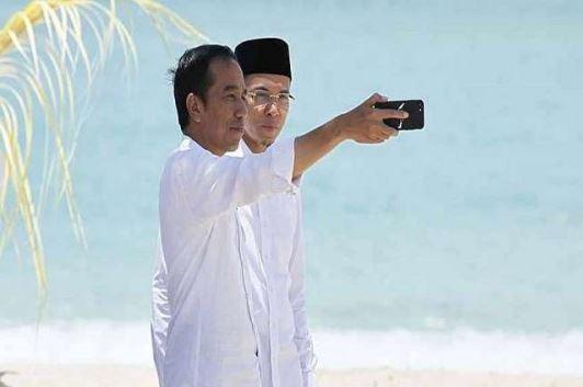 Jokowi dan TGB.