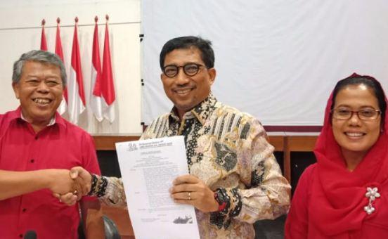 Ketua Tim Pemenangan Jokowi-Ma'ruf Amin di Jatim, Irjen Pol (Purn) Machfud Arifin.