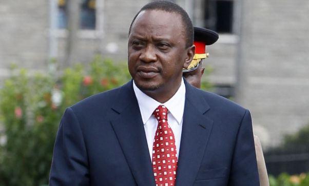 Presiden Kenya Uhuru Kenyatta.