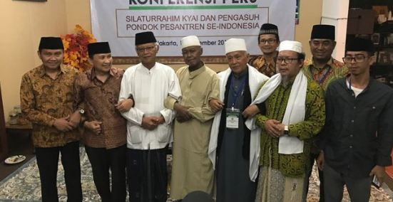 Para Kiai yang dukung Jokow-Ma'ruf.