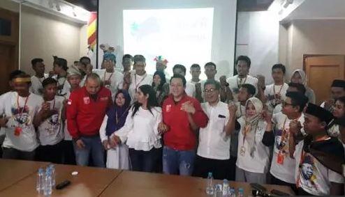 Komunitas Muda Amin Indonesia deklarasi dukung Jokowi-Ma'ruf.
