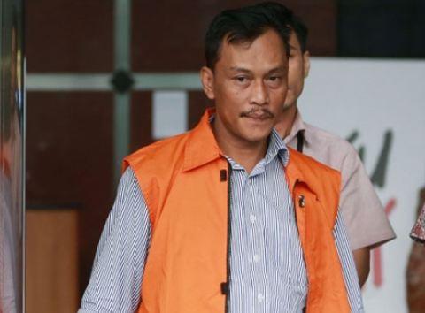 Mantan Ketua DPRD Kota Malang Moch Arief Wicaksono ditahan KPK.