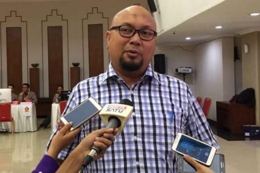 komisioner KPU RI Ilham Saputra.