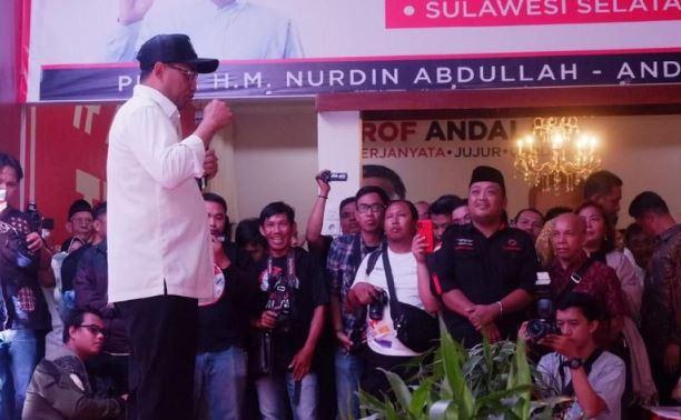 Deklarasi relawan 'Blusukan Jkw' dideklarasikan di Makassar, Sulawesi Selatan. (Foto: dok. Blusukan Jkw)