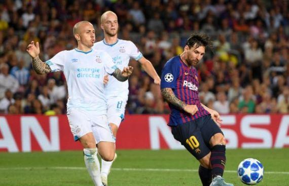 Lionel Messi berhasil cetak hat-trick.