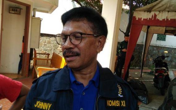 Wakil Ketua TKN Johnny G Plate.