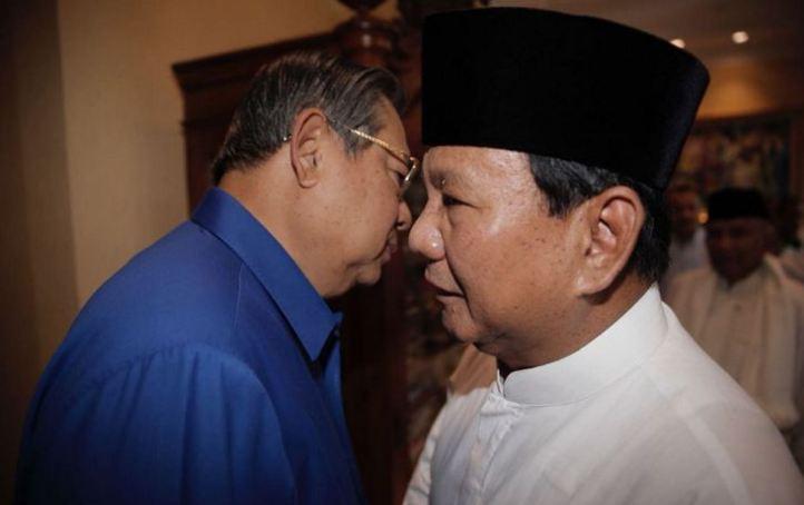 SBY dan Prabowo.