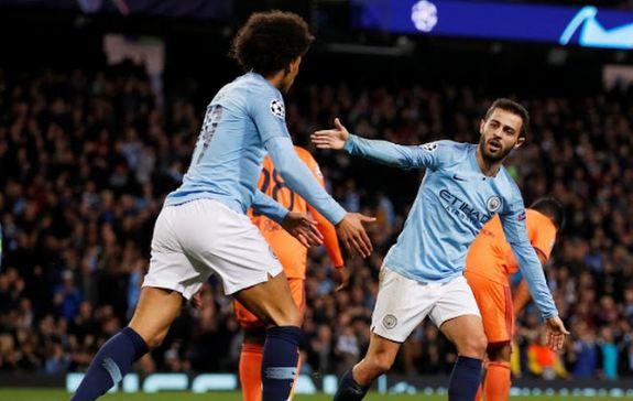 Bernardo Silva mencetak gol saat City kalah dari Lyon.