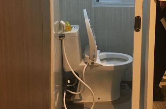 Penampakan toilet Setya Novanto di Lapas Sukamiskin.