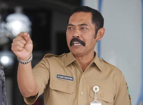 Wali Kota Surakarta, FX Hadi Rudyatmo.