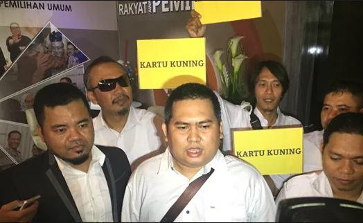 Kartu kunung dari GNR untuk Prabowo-Sandi.