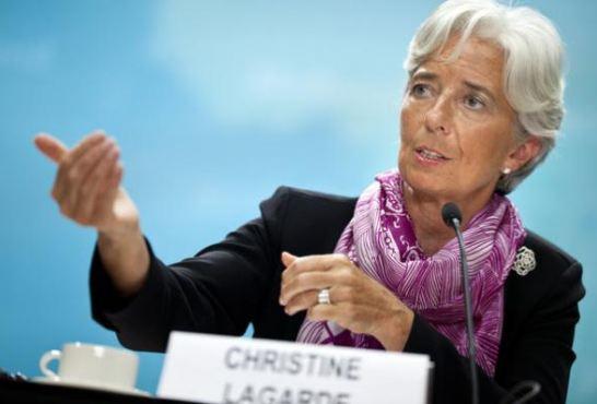 Direktur Pelaksana IMF Christine Lagarde.
