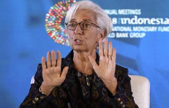Direktur Pelaksana International Monetery Fund (IMF), Christine Lagarde.