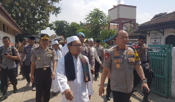 Kapolda Banten Brigjen Pol Teddy Minahasa Putra.