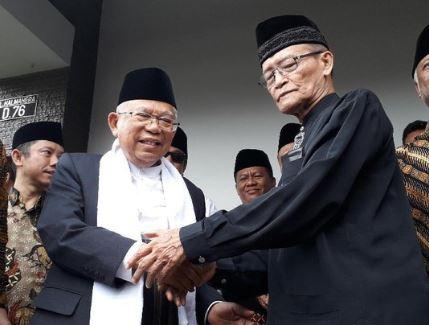 KH Ma'ruf amin dan Buya Syafii.