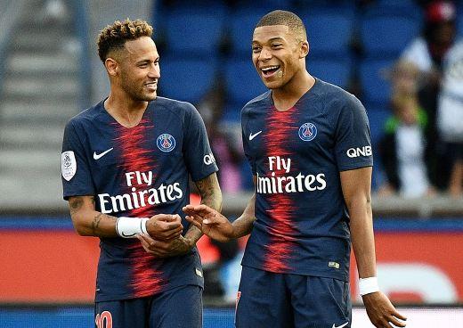 Neymar dan Mbappe.