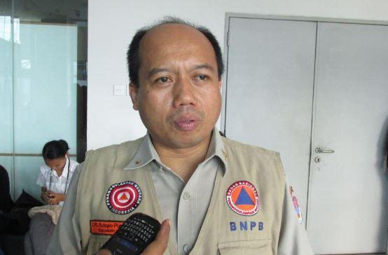 Humas BNPB Sutopo Purwo Nugroho.