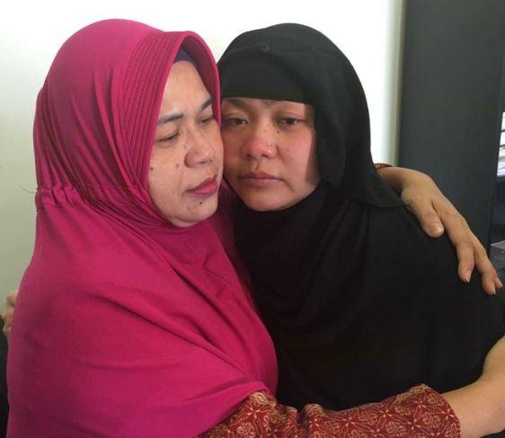 Pertemuan terakhir tki Tuti dengan ibunya pada april 2018.