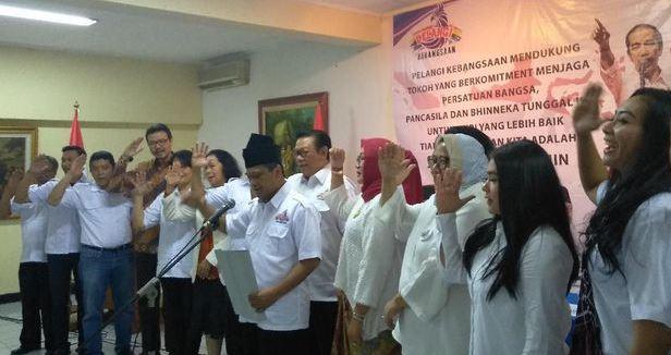 Deklarasi ormas Pelangi Kebangsaan dukung Jokowi-Ma'ruf.