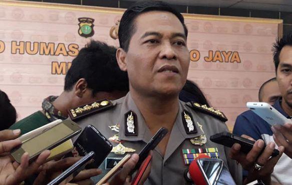 Kabid Humas Polda Metro Jaya Kombes Pol Raden Prabowo Argo Yuwono.