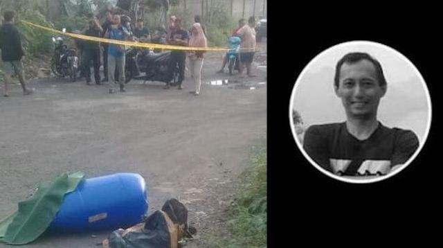 Abdullah Fithri Setiawan alias Dufi yang jasadnya ditemukan dalam tong sampah biru di Kampung Narogong, Klapanunggal, Kabupaten Bogor, Jawa Barat.