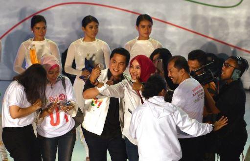 Erick Thohir Saat peluncuran Jokowi App.