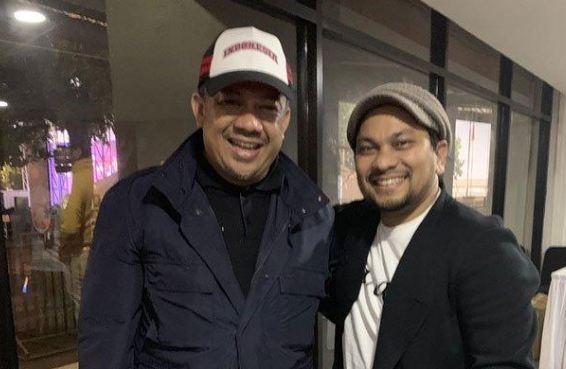 Fahri Hamzah dan Tompi.
