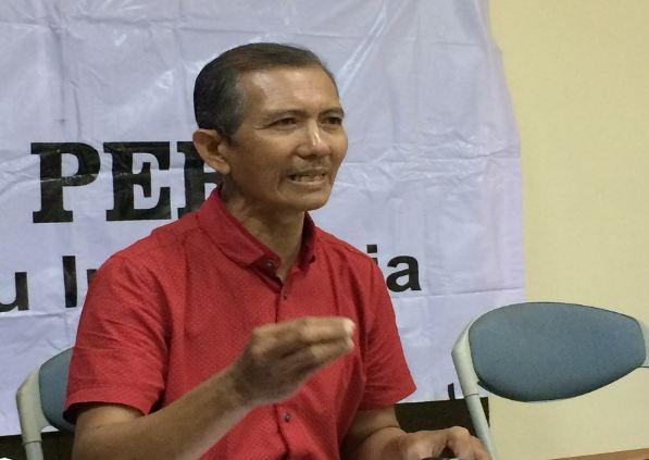 Sekretaris Jenderal Federasi Serikat Guru Indonesia (FSGI) Heru Purnomo.
