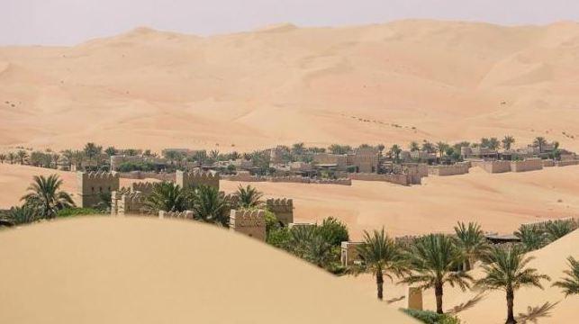 Hotel Terpanas di Dunia di perbatasan Arab Saudi.