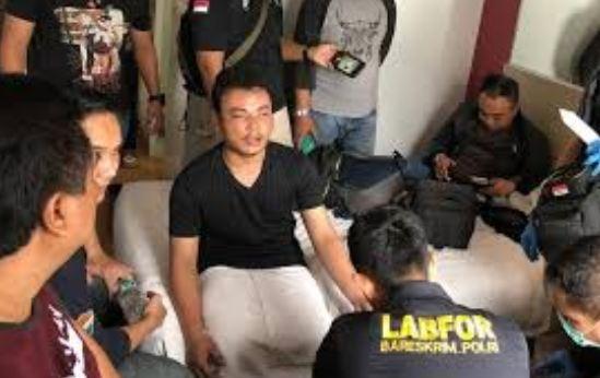 HS tersangka pembunuh keluarga Gaban.