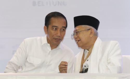 Jokowi- Ma'ruf.