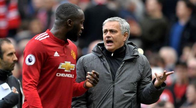 Lukaku dan Jose Mourinho.