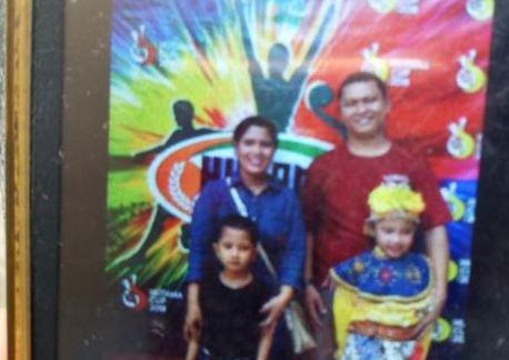 Keluarga Gaban Nainggolan, korban pembunuhan di Pondok Gede, Bekasi.