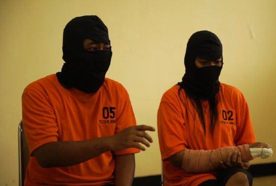 Pasangan suami-istri, M Nurhadi dan Sari yang membunuh Dufi.