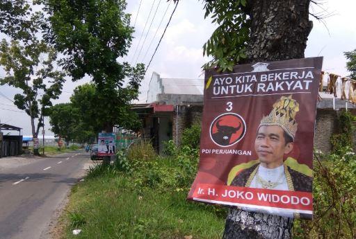 Poster Jokowi.