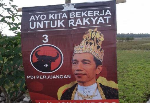 Poster Raja Jokowi.