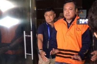 Remigo resmi ditahan KPK.