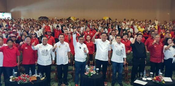 Tim kampanye Jokowi-Maruf Amin Sulawesi Utara.