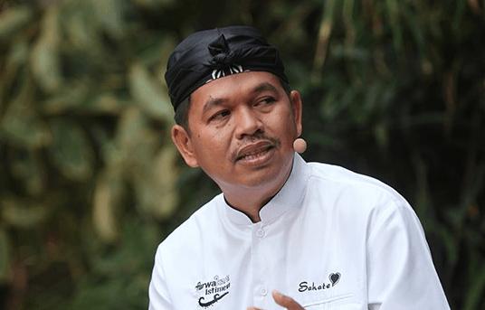 Ketua TKD Jokowi-Maruf Amin Jabar, Dedi Mulyadi.
