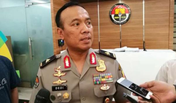 Kepala Biro Penerangan Masyarakat Divisi Humas Mabes Polri Brigadir Jenderal Polisi Dedi Prasetyo.
