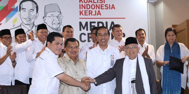 Tim Jokowi-Ma'ruf Amin.