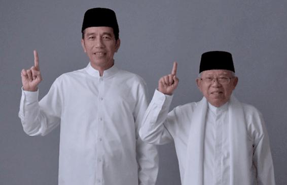 Jokow-Ma'ruf Amin.