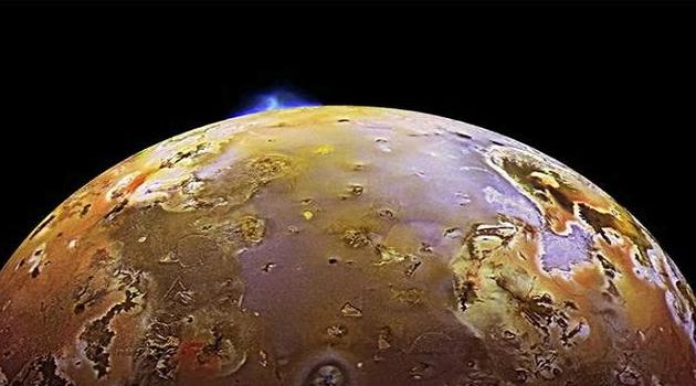 Penampakan planet Jupiter.