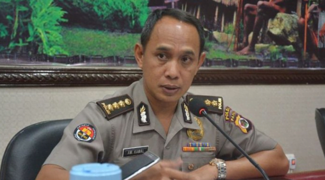 Kabid Humas Polda Papua Kombes Ahmad Musthofa Kamal,