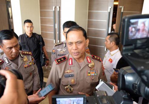 Kapolda Riau Irjen Pol Widodo Eko Prihastopo.