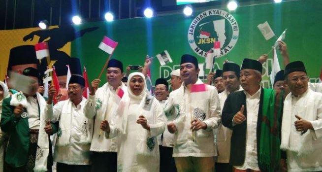 Khofifah Bersama JKSN Wilayah DKI Deklarasikan Dukungan untuk Jokowi-Ma'ruf.