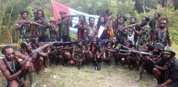 Kelompk riminal bersenjata Papua.